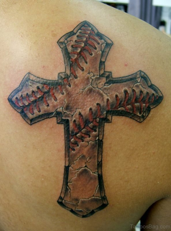 Elegant Cross Tattoo