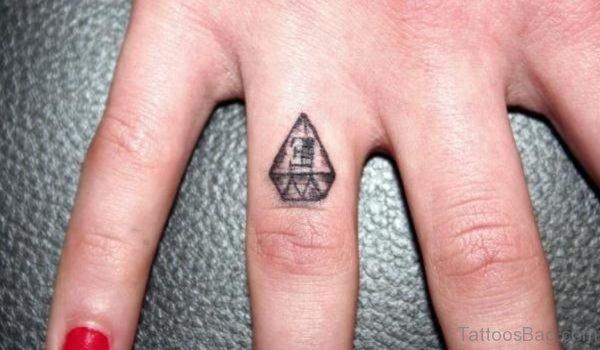 Elegant Diamond Tattoo