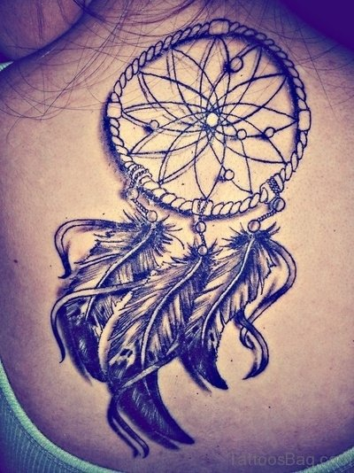 Elegant Dream Catcher Tattoo