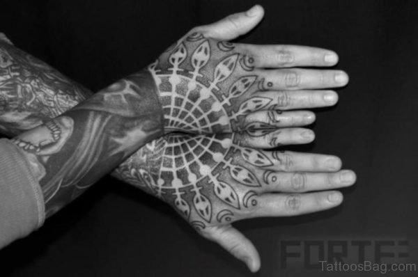 Elegant Geometric Tattoo