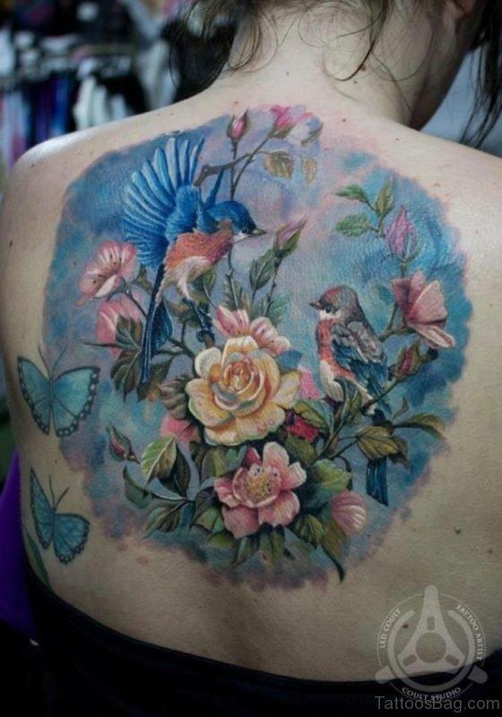Elegant Hummingbird Tattoo