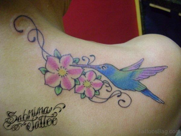 Attractive Hummingbird Tattoo  Design