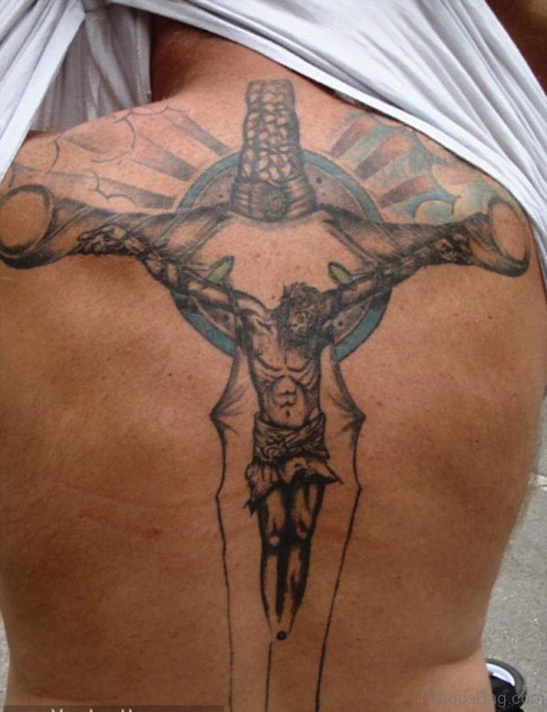 Elegant Jesus Tattoo