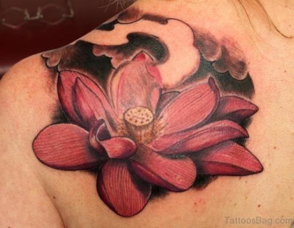 Elegant Lotus Tattoo