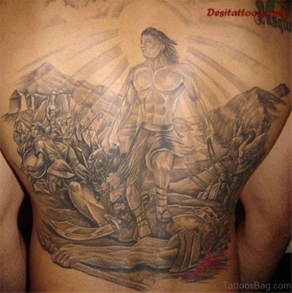 Elegant Religious Tattoo