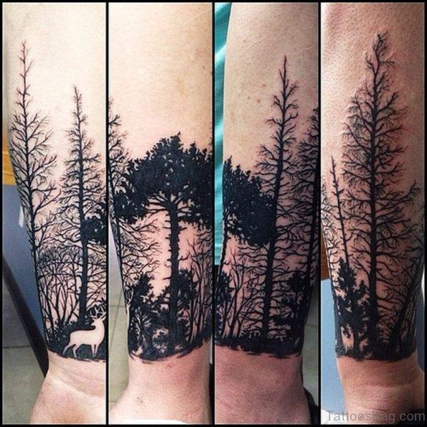 Elegant Tree Tattoo