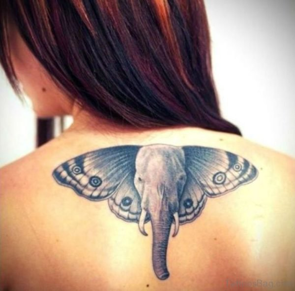 Elephant Face Tattoo