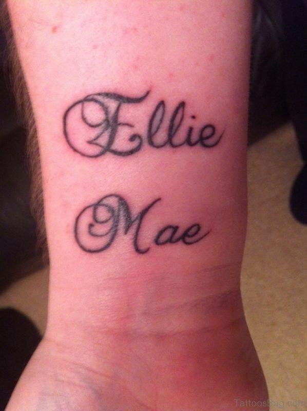 Ellie Mae Tattoo