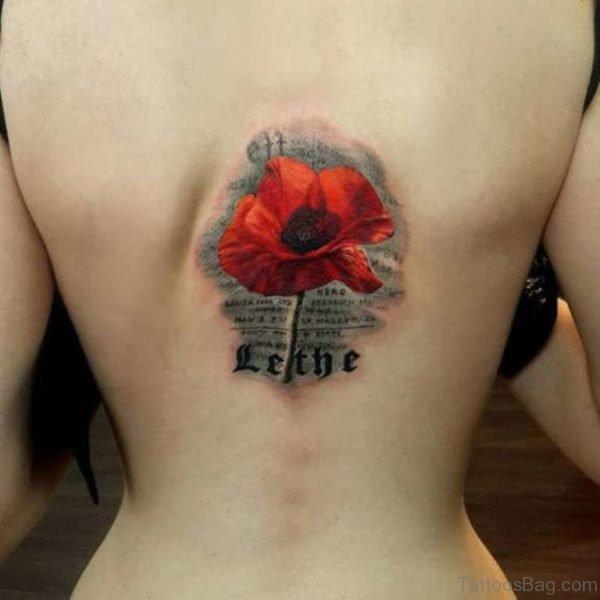 Endearing Poppy Tattoo