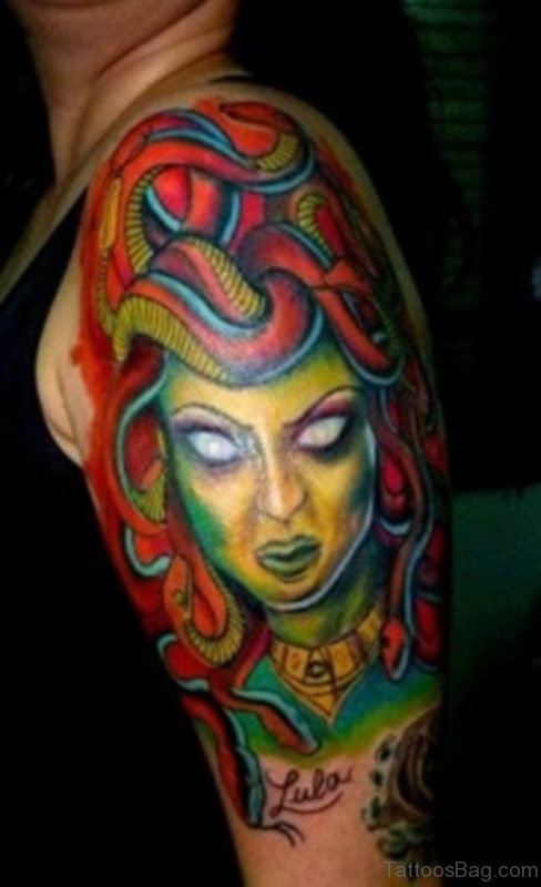 Evil Medusa Tattoo
