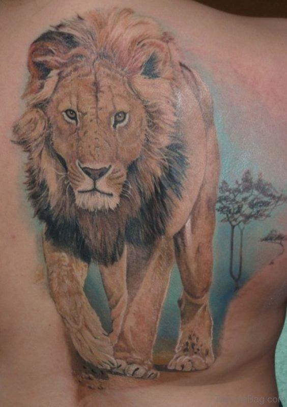 Excellent Lion Tattoo