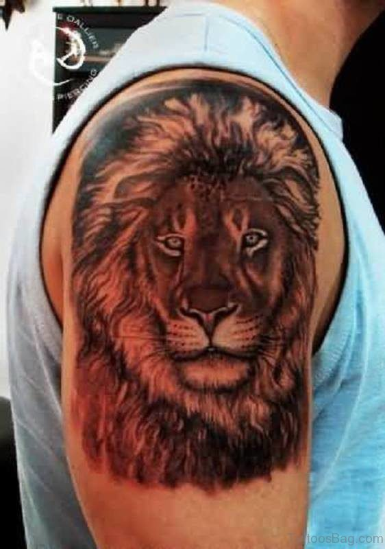 Extremely Good Lion Tattoo