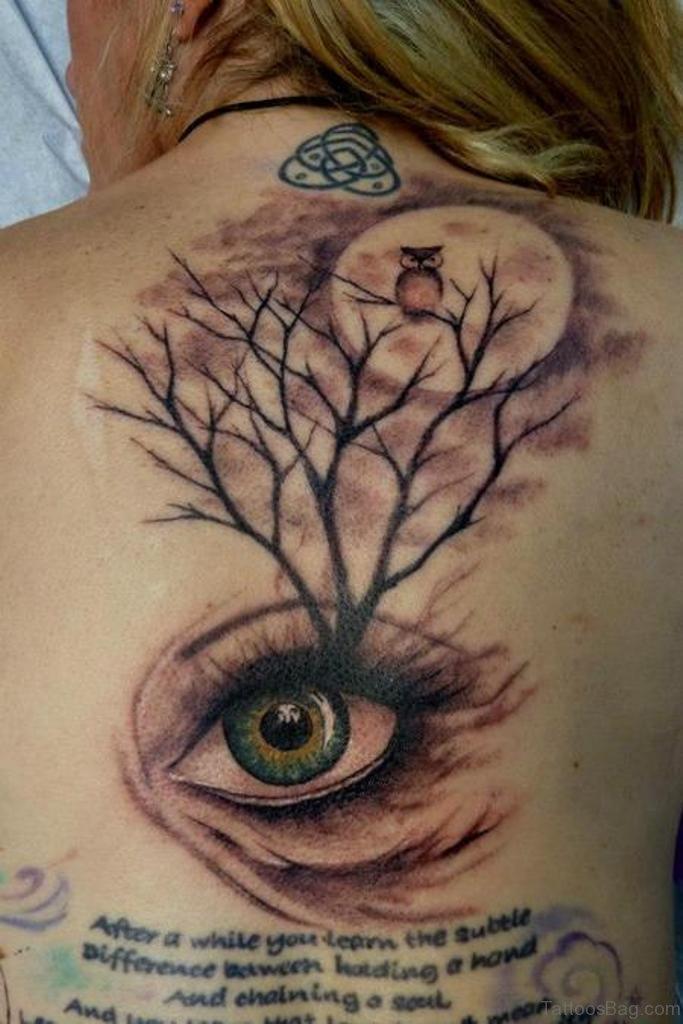 80 fabulous tree tattoos on back for Tree back tattoo