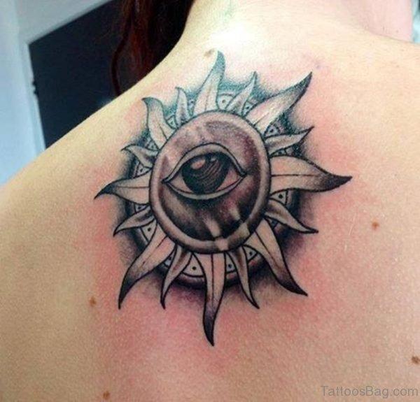 Eye Sun Tattoo