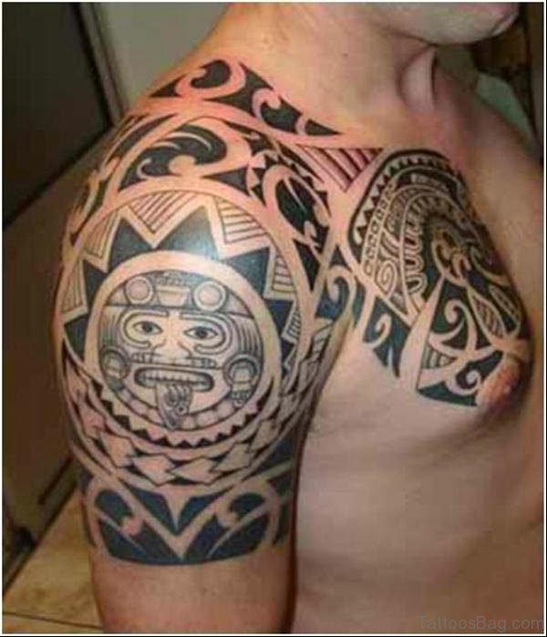 Fabulous Aztec Tattoo Design