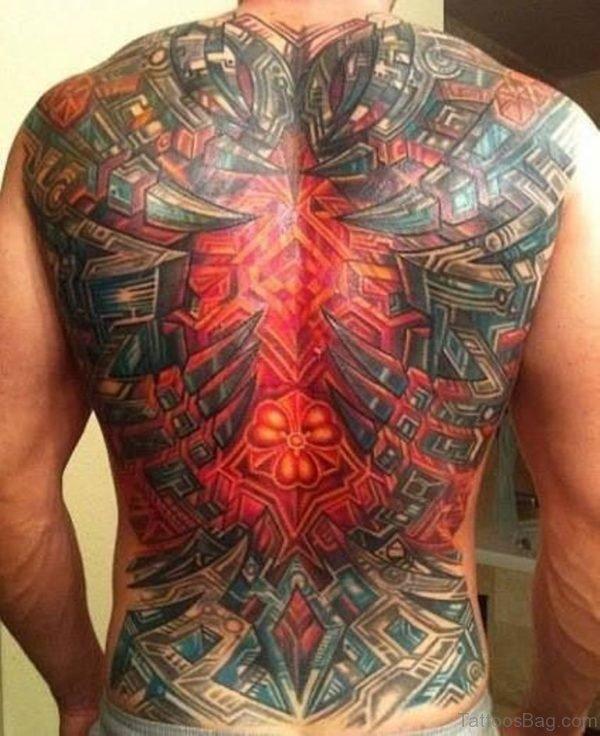 Fabulous Biomechanical Tattoo