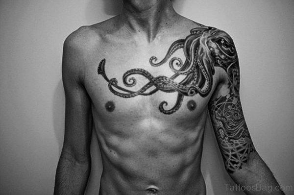 Fabulous Chest Tattoo