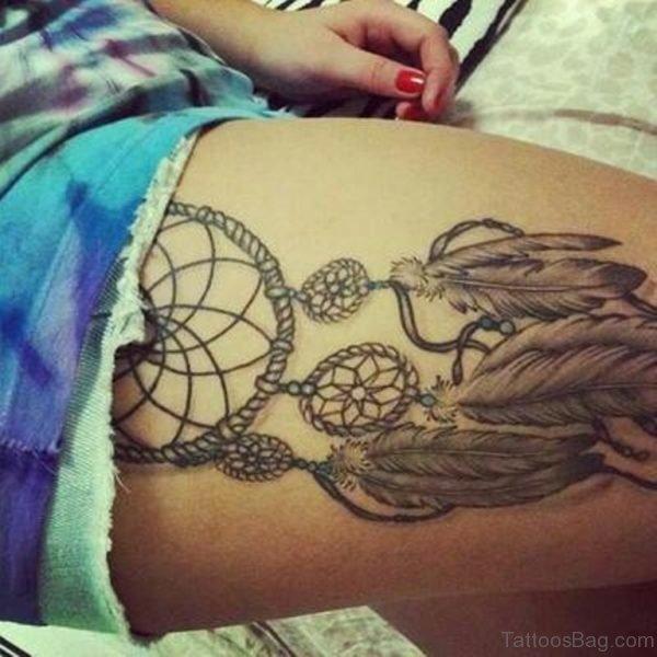 Fabulous Dreamcatcher Tattoo