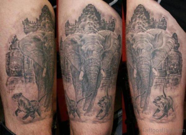 Fabulous Elephant Tattoo