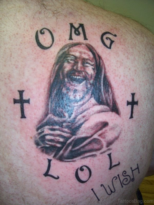 Fabulous Jesus Tattoo