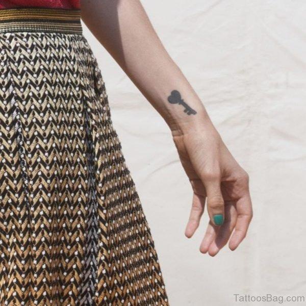 Fabulous Key Tattoo