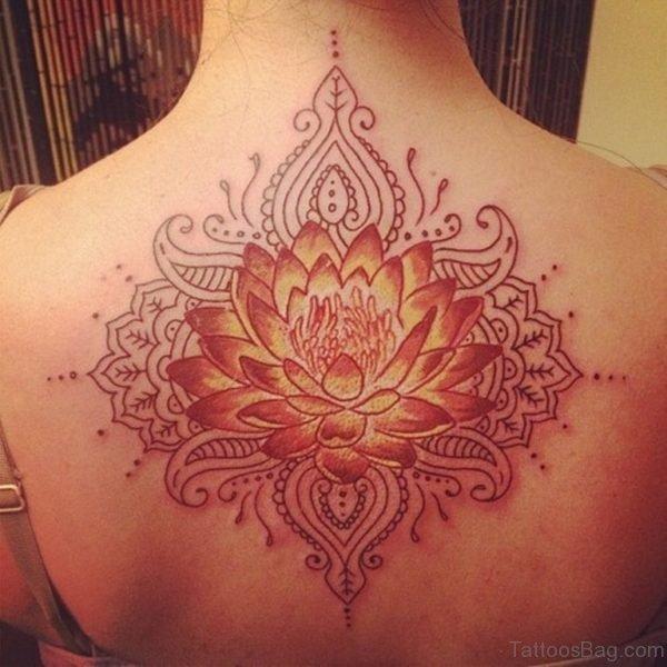 Fabulous Lotus Flower Tattoo