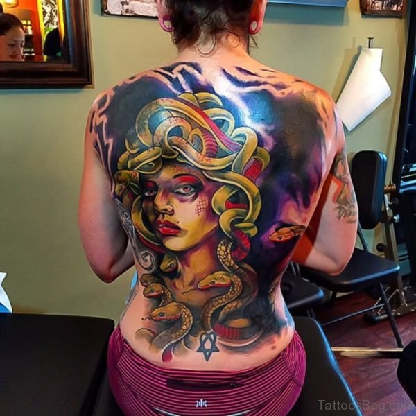 Fabulous Medusa Tattoo