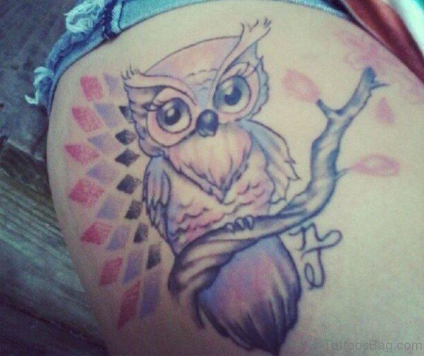 Fabulous Owl Tattoo