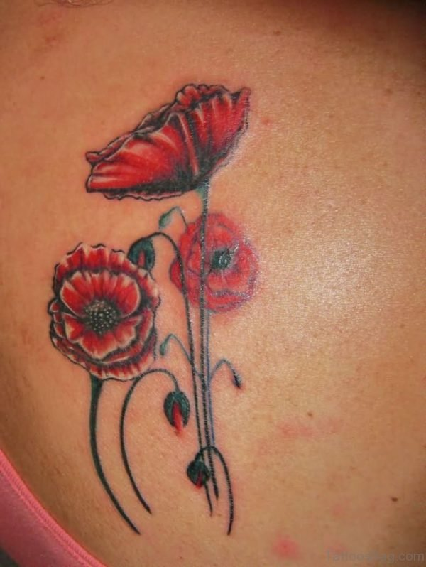 Fabulous Poppy Tattoo