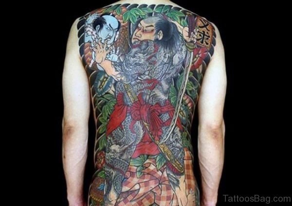 Fabulous Samurai Tattoo