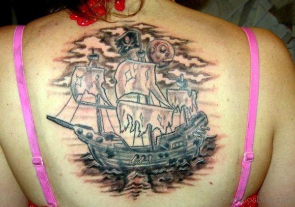 Fabulous Ship Tattoo