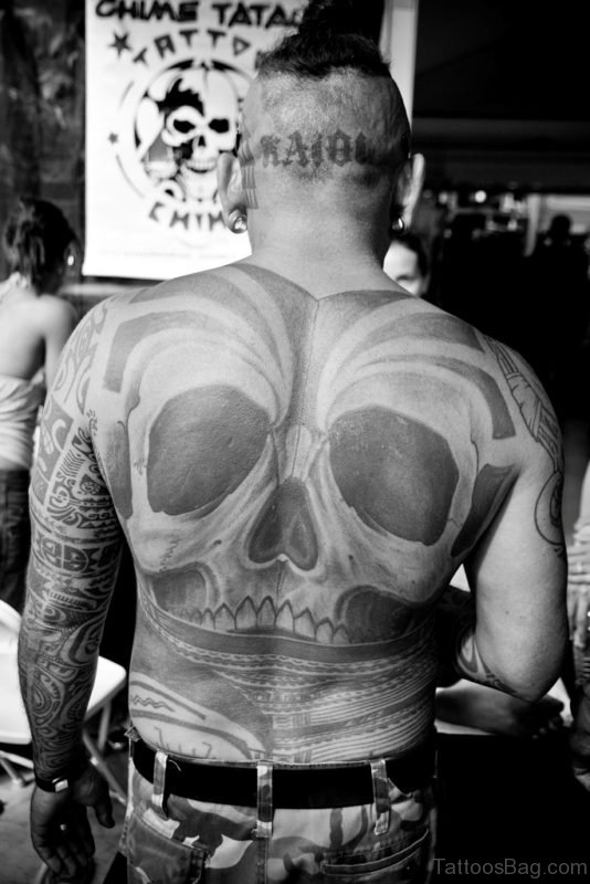 Fabulous Skull Tattoo