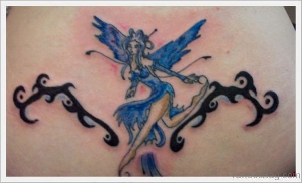 Fairy And Tribal Tattoo