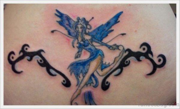 Fairy And Tribal Tattoo