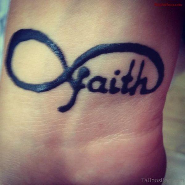 Faith And Infinity Tattoo