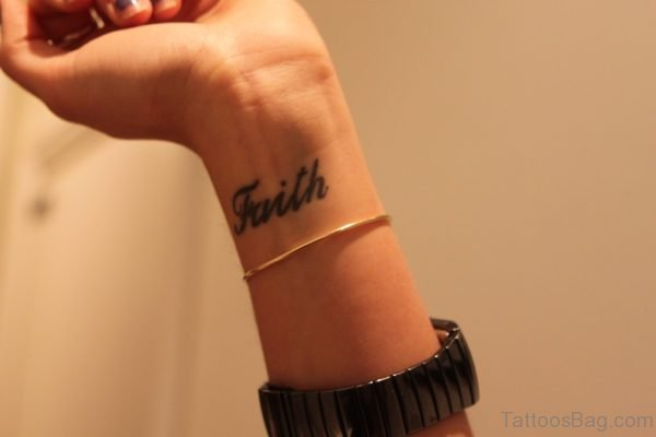 Faith Tattoo Design