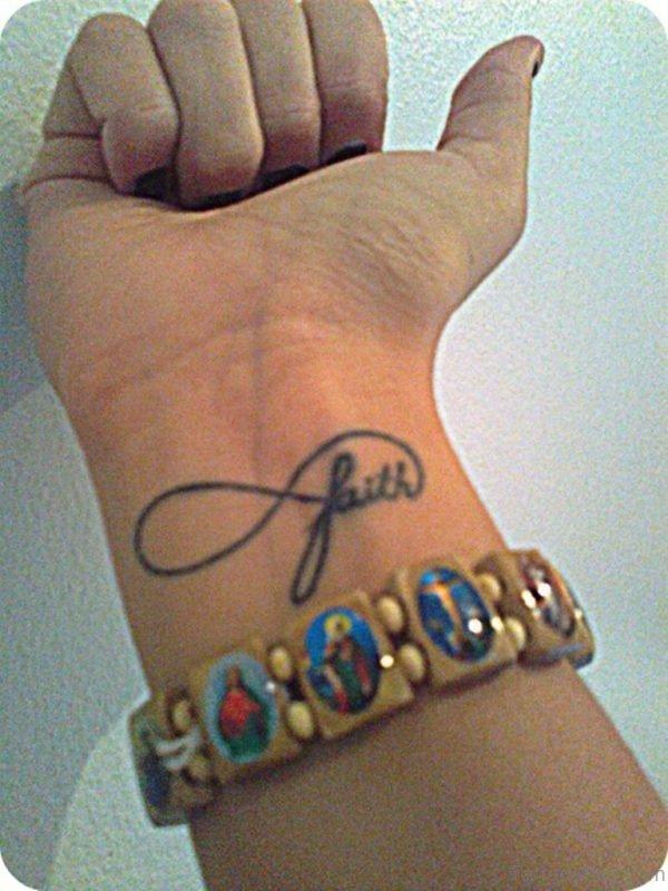 Faith Word Tattoo