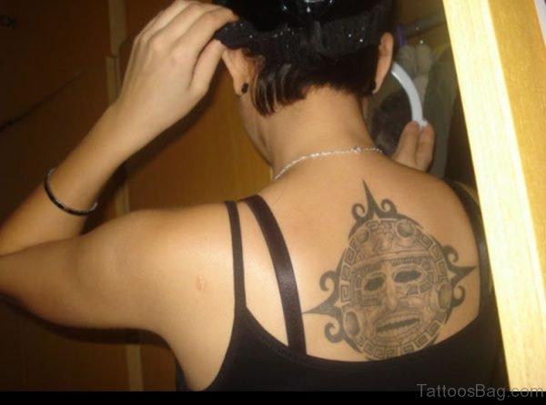 Fancy Aztec Tattoo