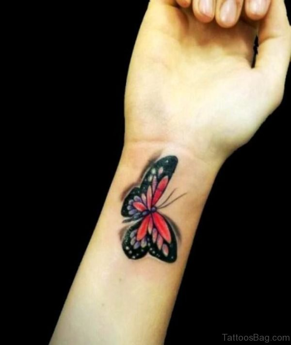 Fancy Butterfly Tattoo