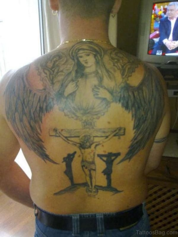 Fancy Jesus Tattoo