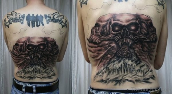 Fancy Skull Tattoo
