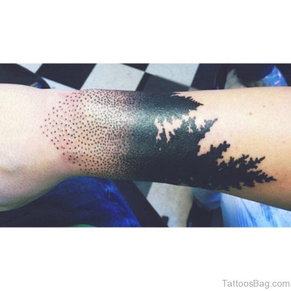 Fancy Tree Tattoo