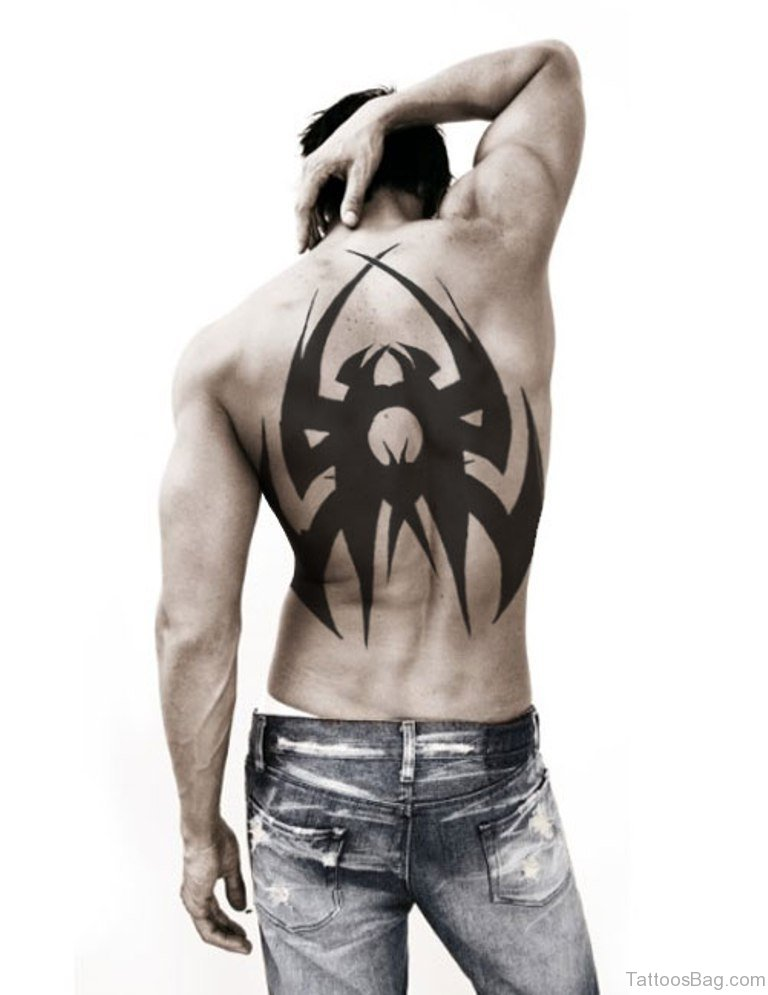60 marvelous back tattoos for men for Tribal tattoos for the back