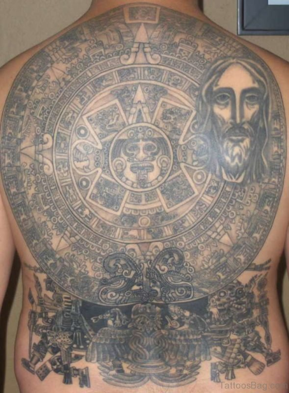 Fantastic Aztec Tattoo