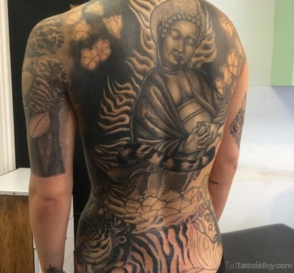 Fantastic Buddha Tattoo Design