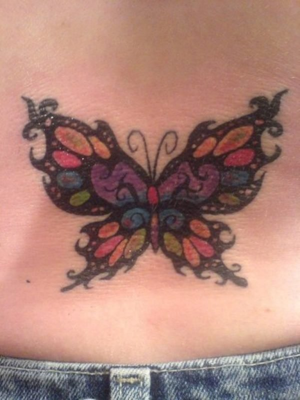 Fantastic Butterfly Tattoo Design