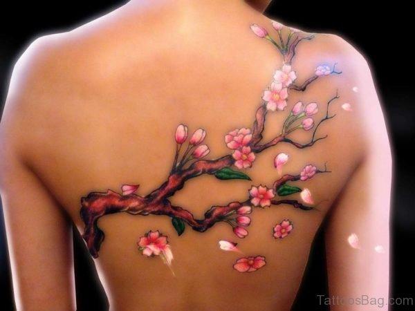 Fantastic Cherry Blossom Tattoo