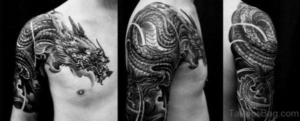 Fantastic Chinese Dragon Tattoo