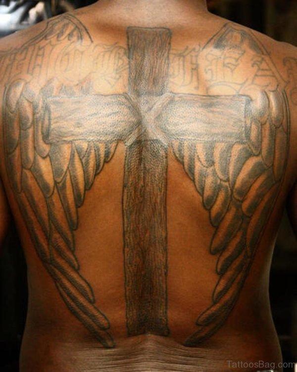 Fantastic Cross Tattoo Design