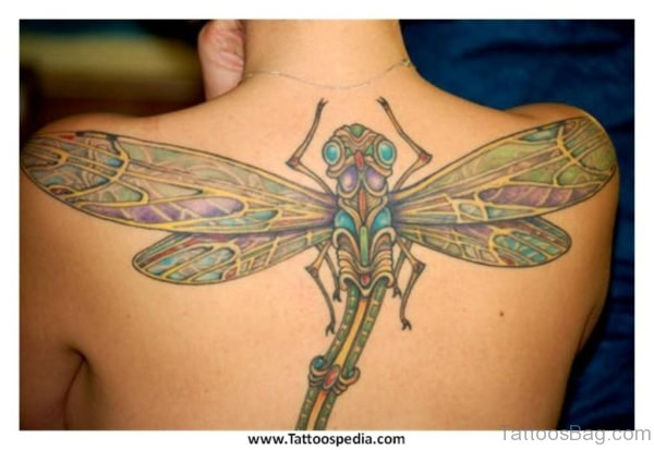 Fantastic  Dragonfly Tattoo